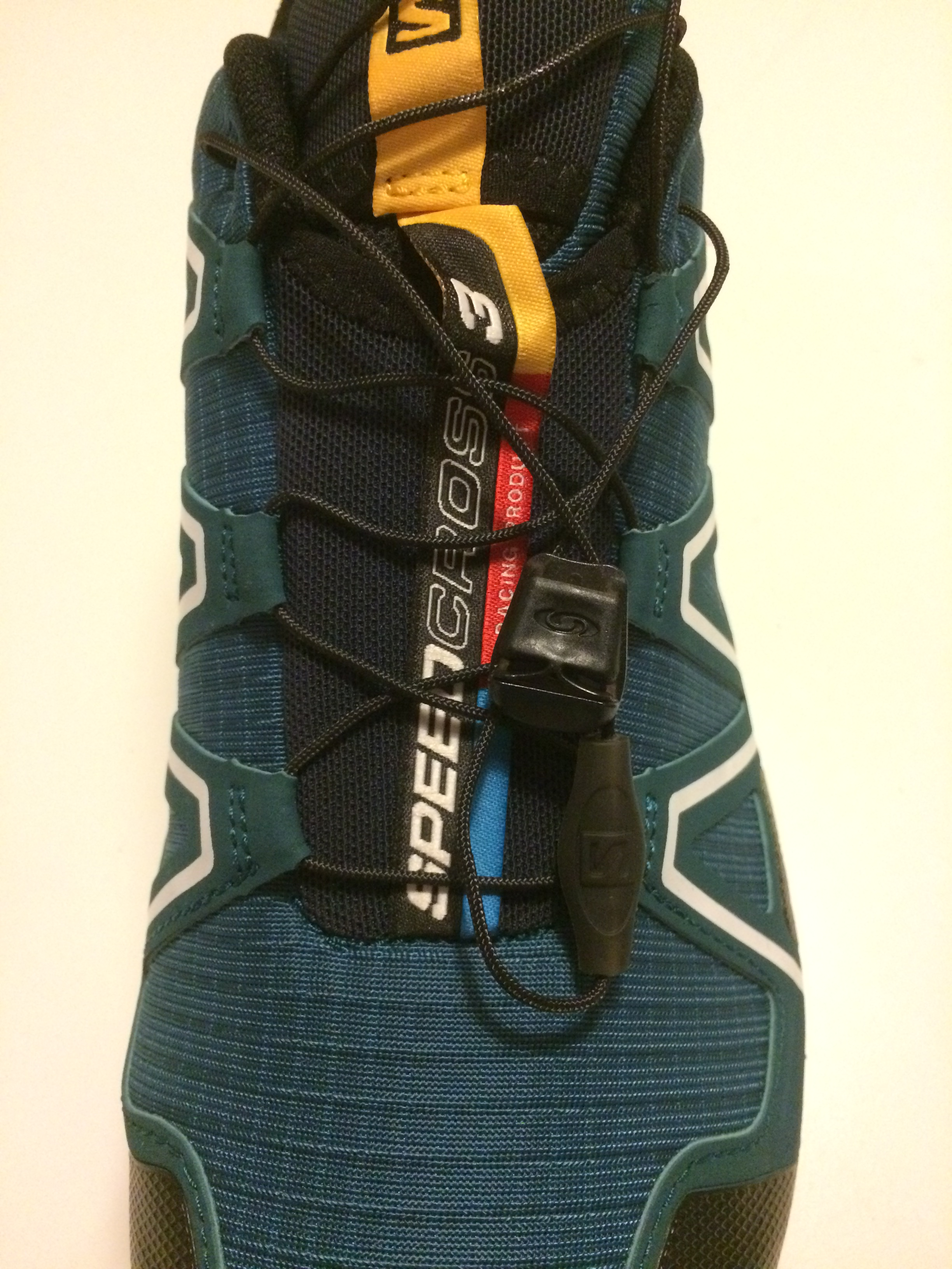 Salomon quick-lace system